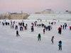 ЛОКОМОТИВ, стадион, каток Тюмень